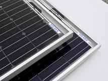 Solarmodule mit Rahmen. Diese Solarmodule haben alle Tests bestanden. Solarmodule mit Rahmen sind ideal für die mobile Anwendung auf Camper, Kastenwagen, Vans, Wohnwagen und off Road Fahrzeugen. Solarmodule leicht flexibel & begehbar.