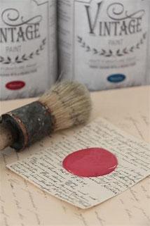 Peinture VINTAGE PAINT Warm red de Jeanne d'Arc Living