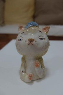 i-ppoたおか 田岡正臣 経堂 ネコ 陶器