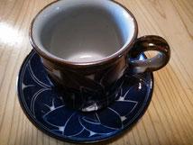 彫入カップ&ソーサ