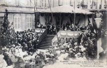 Inauguration du buste Claude Tillier