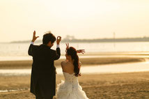 元会員様から提供の結婚写真