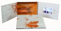 Video-Card A5 Hochformat Magnetauslösung Play/Pause Laut/Leise Ladebuchse