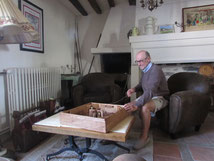 Piece historique jean de la fontaine, gite chateau-thierry 02