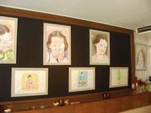 教え子の展示会の画像