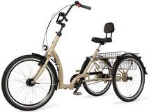 Pfau-Tec Comfort Dreirad und Elektro-Dreirad für Erwachsene - Shopping-Dreirad 2017