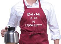 tablier cuisine prénom