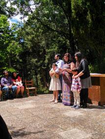 Bienvenida- Nombramiento de Padrinos y Mini Padrinos de Honor.