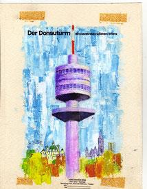 Donauturm Wien 1964 Wiga.