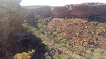 Le fond du canyon