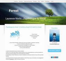 exemple d'un site internet de profession liberale réalisé avec e-cime.fr