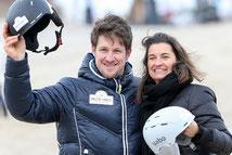 Matthias Steiner und Inka Schneider nach dem Training © ExperiArts Entertainment - Thomas Ix