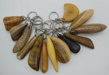 Schlüsselanhänger aus Holz, Handschmeichler