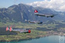 Beech 18 und DC-3