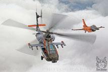 Apache und F-16