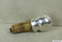 Flaschenkorken mit Ausgießer 835er Silber, € 50,00