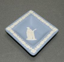 Wedgwood, England,Jasperware, Blau, Aschenbecher,Rautenschale, € 35,00