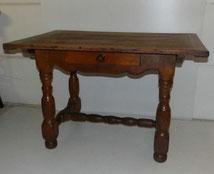 Barock Bauerntisch, 120 x 80 cm, Holzverdübelt, Schublade, € 1100,00