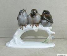 Rosenthal Rosenthal, Porzellan, Vogelgruppe, Modell: 1531, Himmelstoss, € 130,00