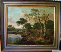 Jan Wynants,Kopie von 1911,Münchener Malerschule,127x100 cm, € 2400,00