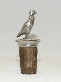 Alter Flaschen korken, silver-plated, Greifvogel, 4,0 cm, € 49,00