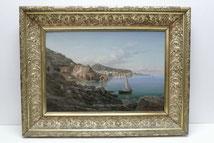 Jean Großgasteiger, 1892, Italienische Felsenküste, Öl auf Leinwand , € 2900,00