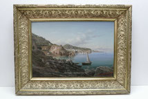 Jean Großgasteiger, 1892, Italienische Felsenküste, Öl auf Leinwand , € 1950,00