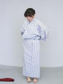 旅館浴衣の着方5.5