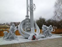 チェルノブイリ原発事故殉職消防士のメモリー