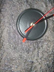 Lava-Uhrwerk-Standuhr-Skulptuhr-Uhr-Kunstwerk-Skulptur von künstlerstein.de Mathias Rüffert