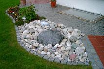 Quellstein im Hausgarten