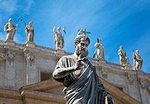 ローマ、キリスト教の歴史ツアー