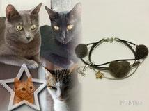 mi-miga-artistic-personalized-jewellery-bracelet-vegan-cord-cat-charm-silver-swarovski-star-pet-hair-raspu-dracaris-montxito