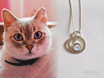 joya-artistica-con-pelo-animal-mi-miga-collar-recuerdo-plata-ley-aro-grabado-piedra-swarovski-engaste-cabuchon-cristal-lupa-gato-reky