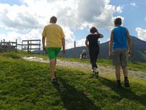 einfache, schwierige, Klettersteige, Alpe- Adria- Trail, Familienfreundlich