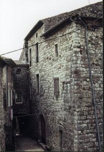 Poterne coté maison forte 1978