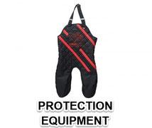 Helper protection equipment