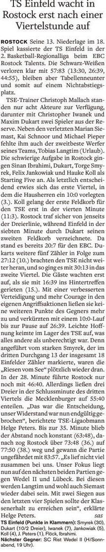 18. Spieltag 2016/2017