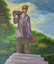 Seidensticker *  Krefelder Denkmal - Maler Nguyen