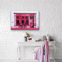 painting pink ink