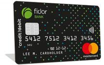 Die Fidor Smart Card Kreditkarte mit Girokonto