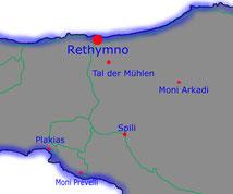 Myli-Schlucht, Tal der Mühlen, Kreta