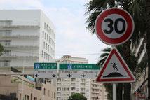 Détournement de panneau réalisé à Toulon
