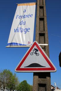 Détournement de panneau réalisé à Trentemoult
