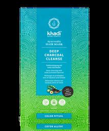 Khadi Deep Charcoal Cleanse Haarmaske