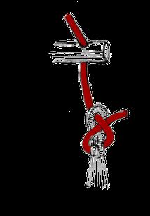 チェアーハンモックの結び方3