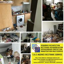 Maison - Débarras et nettoyage à Béziers