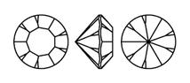 Chaton Swarovski Xirius 1088 Preciosa Optima Maxima