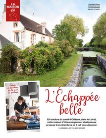 Page 1 article Esprit d'Ici sur L'Echappée Belle