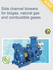 atex blowers - biogas